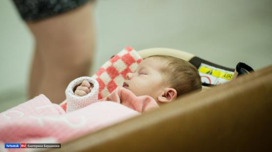 Более 170 малышей родились в Томске в новогодние каникулы