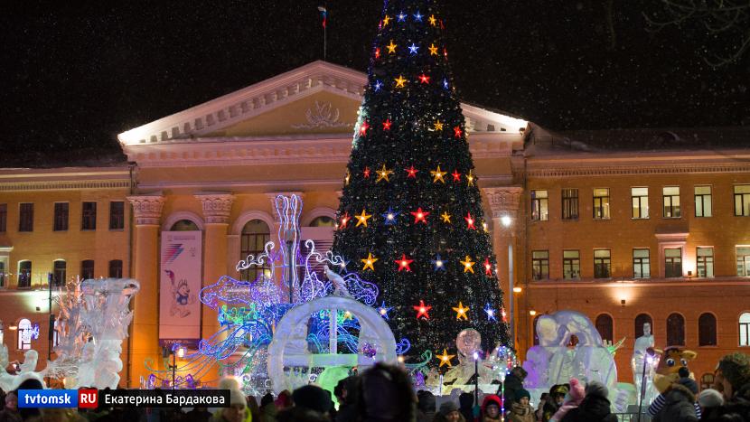 Праздник в честь Рождества пройдёт на Новособорной сегодня вечером