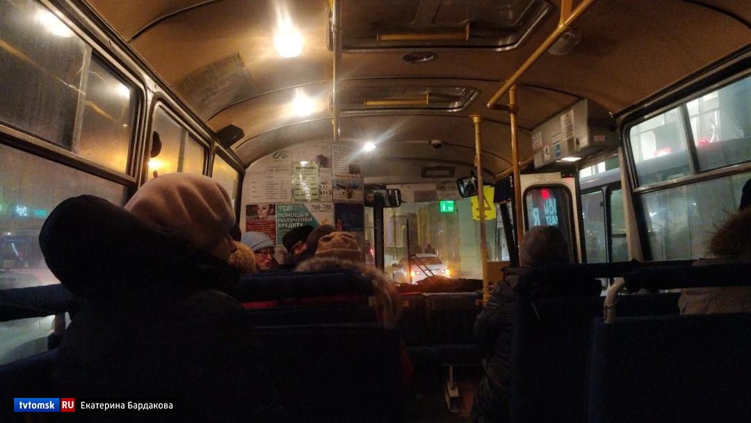 Мэрия: водители томских маршруток прячут терминалы от пассажиров