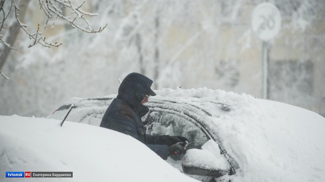 30-градусные морозы придут в Томскую область в начале февраля