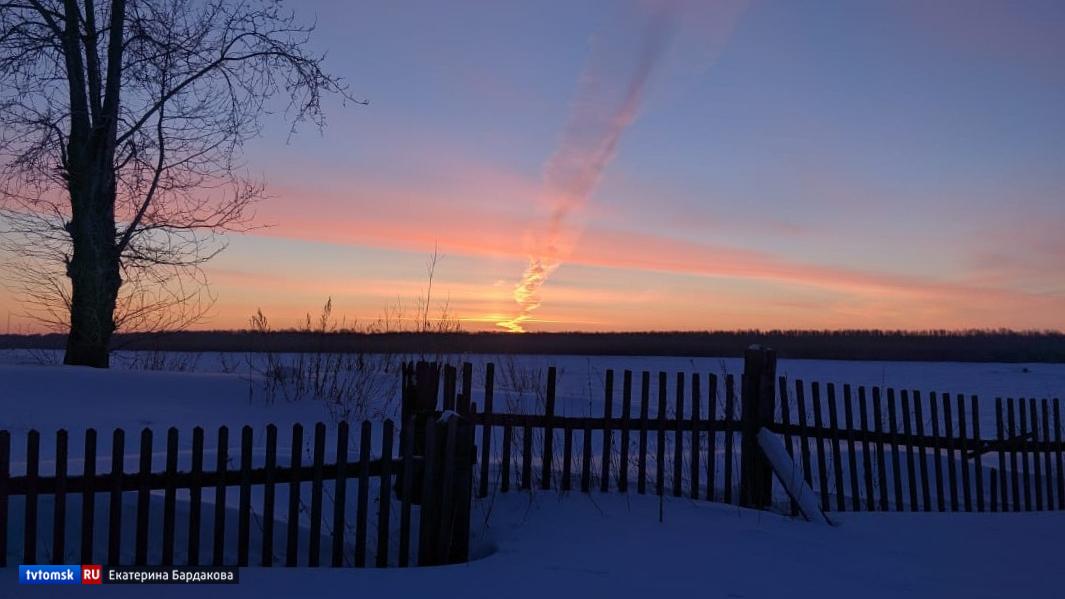 Ночные заморозки и порывы ветра: какая погода будет в Томске в среду