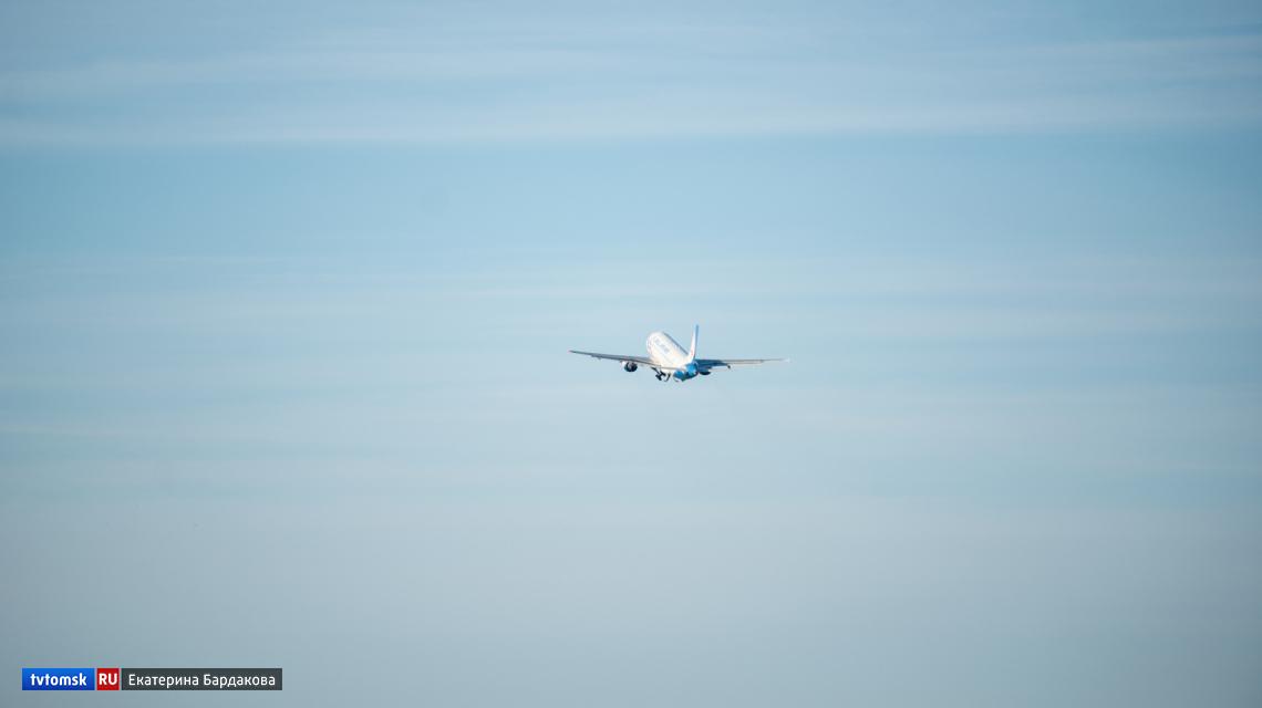 Авиарейсы из Томска в Кызыл запустят с 30 марта
